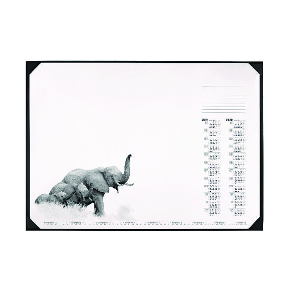 40x60cm Durable African Wildlife Calendar Desk Mat 590 x 420mm 7313