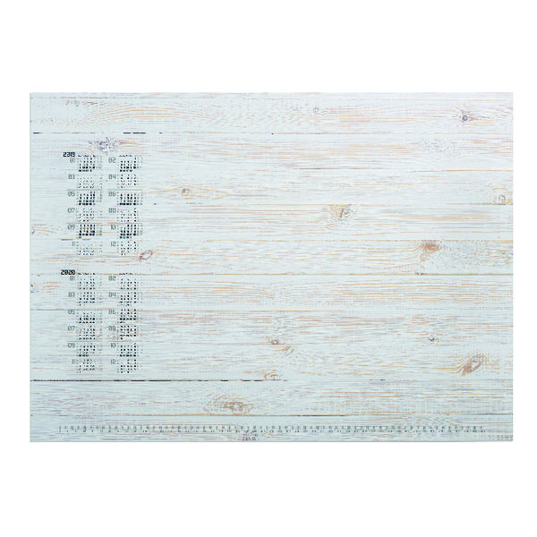 Unspecified Durable Pinewood Panels Calendar Desk Mat Refill 570 x 410mm 7322