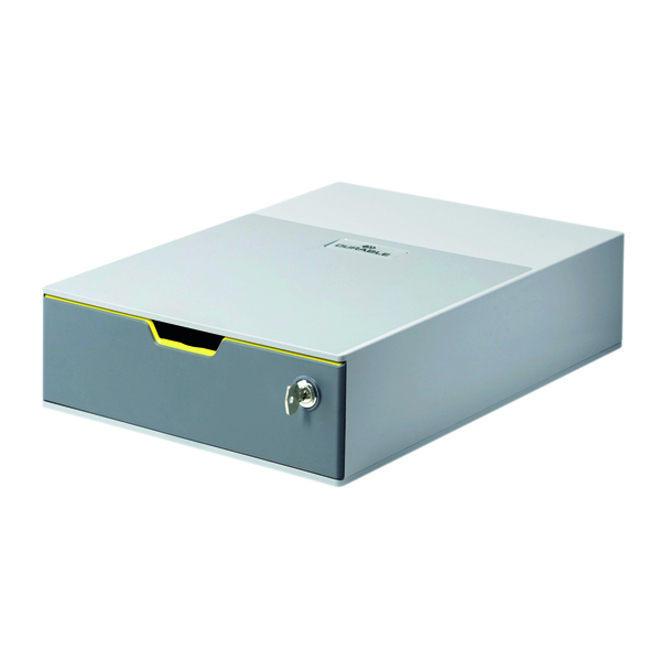 Unspecified Durable Varicolor 1 Drawer Safe Grey 760127