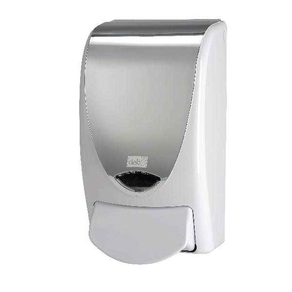 Floor Cleaning Deb Stoko Proline Soap Dispenser 1 Litre Chrome PROLCHROME