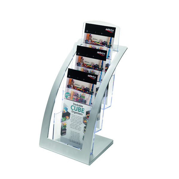 Literature Holders Deflecto Contemporary Counter Top Stand 693745