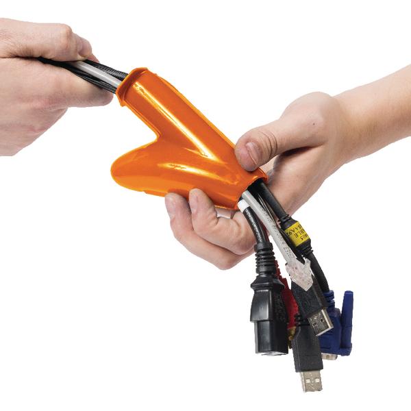 D-Line Cable Zipper 20mm Black 2.5m CZ202.5B