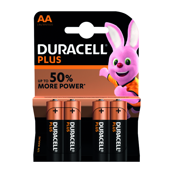 AA Duracell Plus AA Battery (4 Pack) 81275375