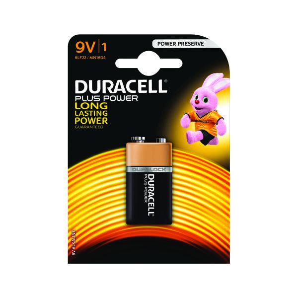 9V Duracell Plus 9V Battery 81275454