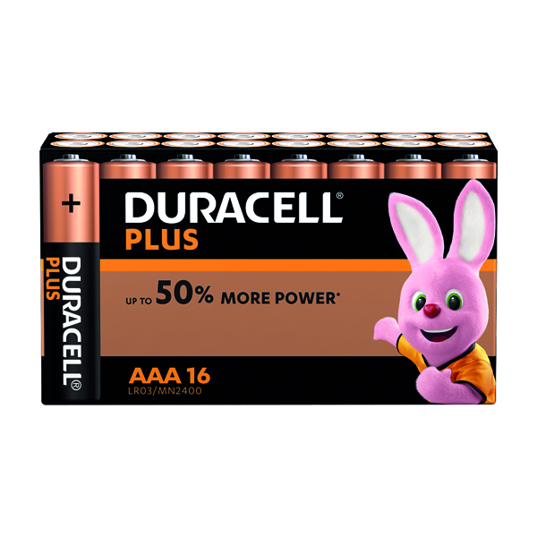 AAA Duracell Plus AAA Battery (16 Pack) 81275415