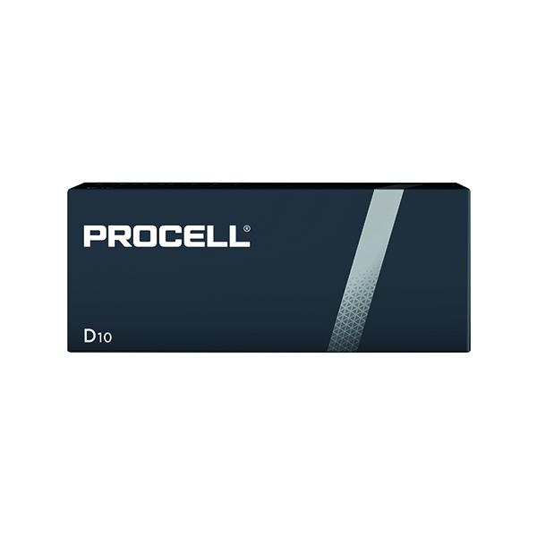 Duracell Procell D Batteries (10 Pack) 5007610