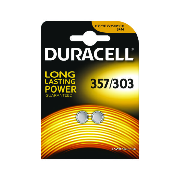 Button Cell Duracell 1.5V Silver Oxide Button Battery (2 Pack) 75053932