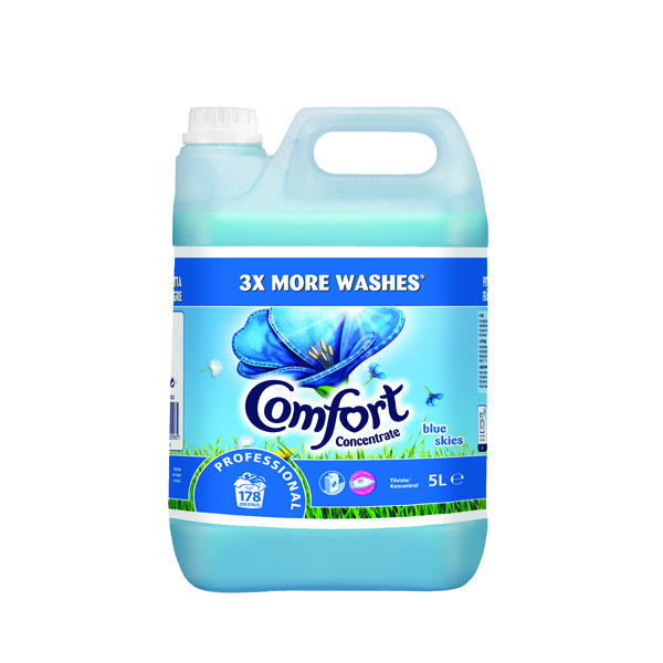 Cleaning Chemicals Comfort Professional Concentrated Fabric Softener Original 5L (2 Pack) 7508522