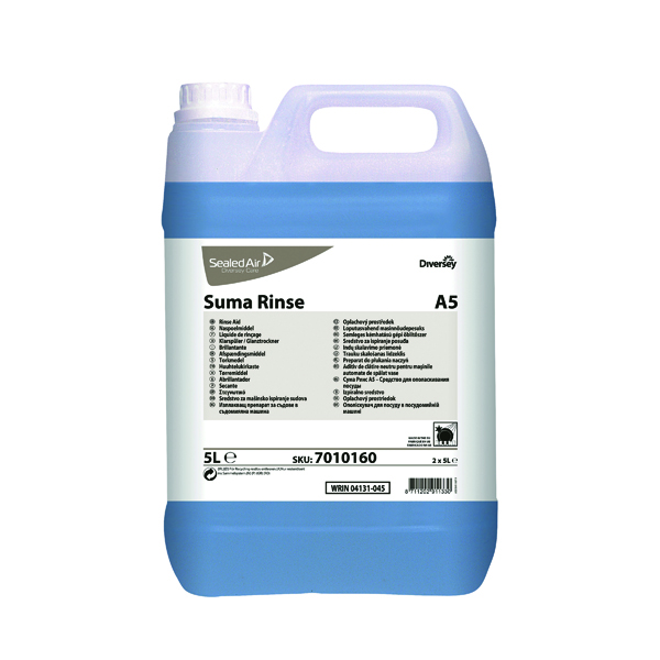 Cleaning Chemicals Diversey Suma Rinse Aid 5 Litre (2 Pack) 7010160
