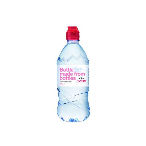 Cold Drinks Evian Natural Mineral Water 75cl (12 Pack) 60735