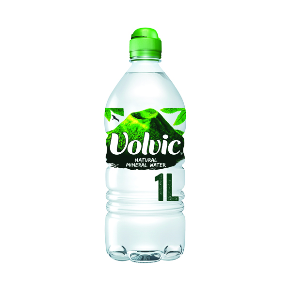 Volvic Natural Mineral Water 1L (12 Pack) 144900