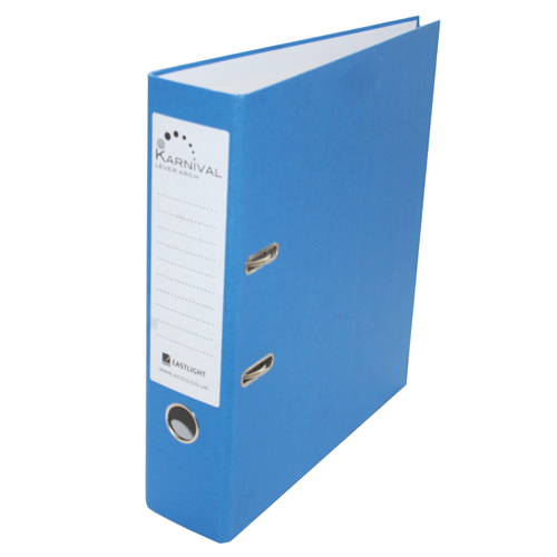 Rexel Karnival A4 Lever Arch File 70mm Blue (10 Pack) 20743EAST