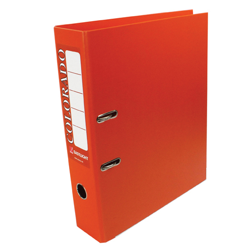 Foolscap (Legal) Size Rexel Colorado Foolscap Lever Arch File Orange (10 Pack) 28116EAST