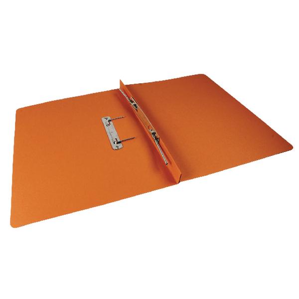 Rexel Jiffex Transfer File Foolscap Orange (50 Pack) 43216EAST