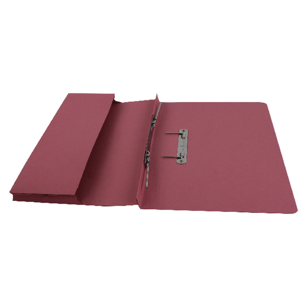 Files Rexel Jiffex Pocket Transfer File Foolscap Pink (25 Pack) 43317EAST