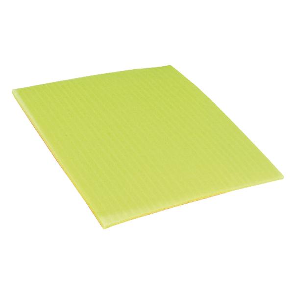Disinfectant Wipes Ecotech 200x180mm Yellow Sponge Cloths (10 Pack) SC100