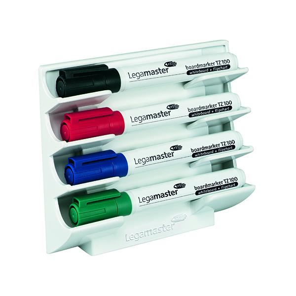 Magnetic Legamaster White Magnetic Marker Holder 7-1220-00