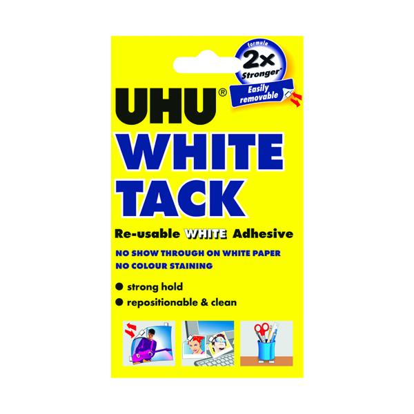 Tack UHU White Tack 62g (12 Pack) 42196