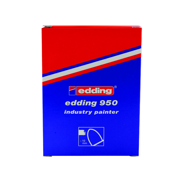 Other Tip Edding 950 Industry Painter Medium Yellow (10 Pack) 950-005