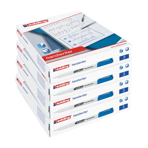 Edding Handwriter Class Pack Blue (200 Pack) 5 for 4 ED810670