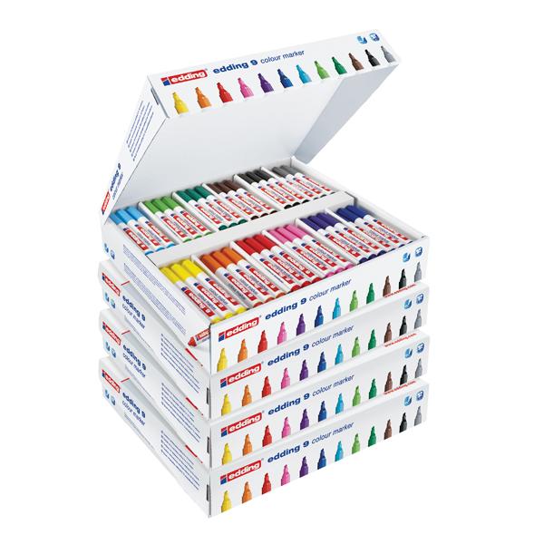 Edding Marker Chisel Class Pack (144 Pack) 5 for 4 ED810675