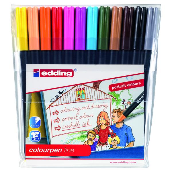 Unspecified Edding Colour Pen Fine (12 Pack) 1421999