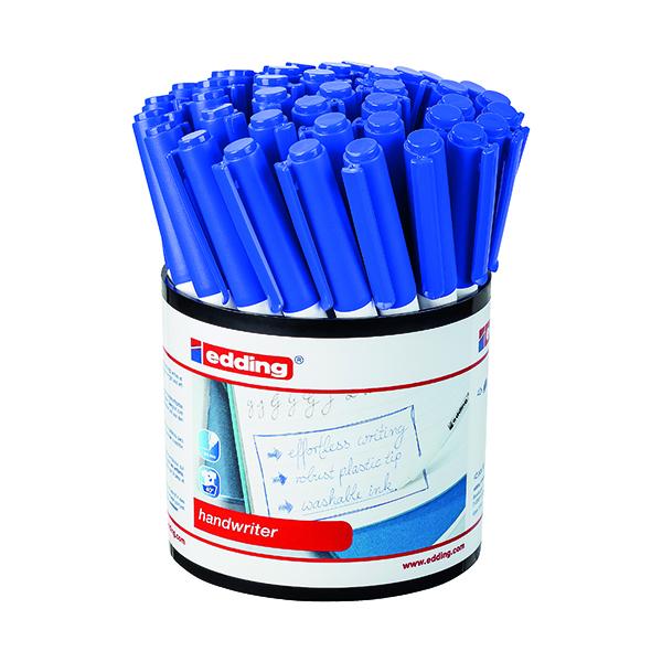 Blue Edding Handwriter Pen Blue (42 Pack) 1408003