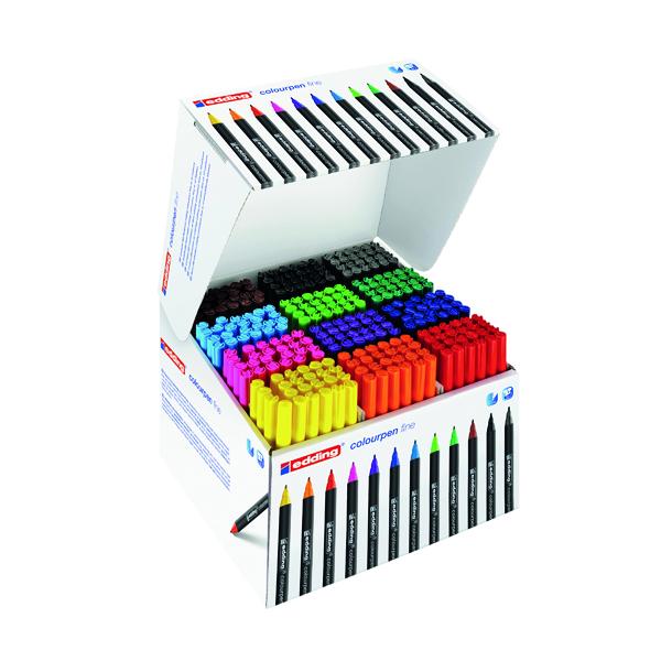 Edding Colourpen Fine Assorted (288 Pack) 300460000