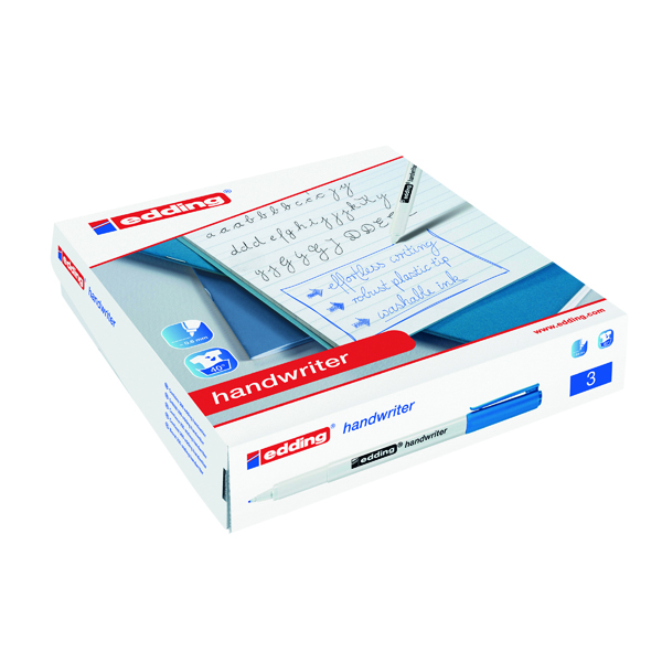 Edding Handwriter Pen Blue (200 Pack) 300463000