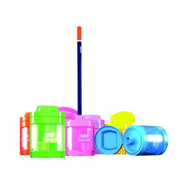 Swash Canister Sharpener Assorted (12 Pack) SDPS112PP
