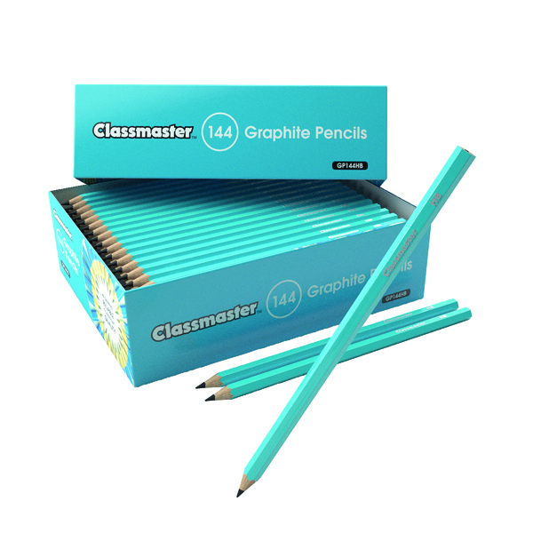 Black Lead Classmaster HB Pencil (144 Pack) GP144HB