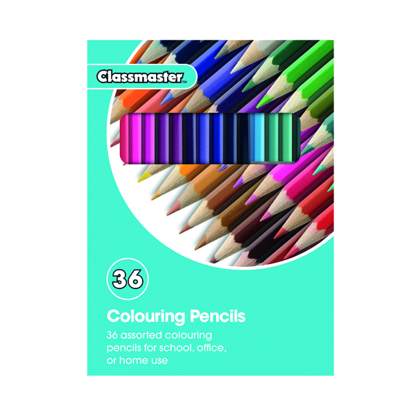 Classmaster Colouring Pencils Assorted (36 Pack) CPW36