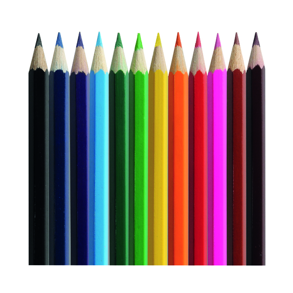 Classmaster Colouring Pencils Assorted (288 Pack) CP288