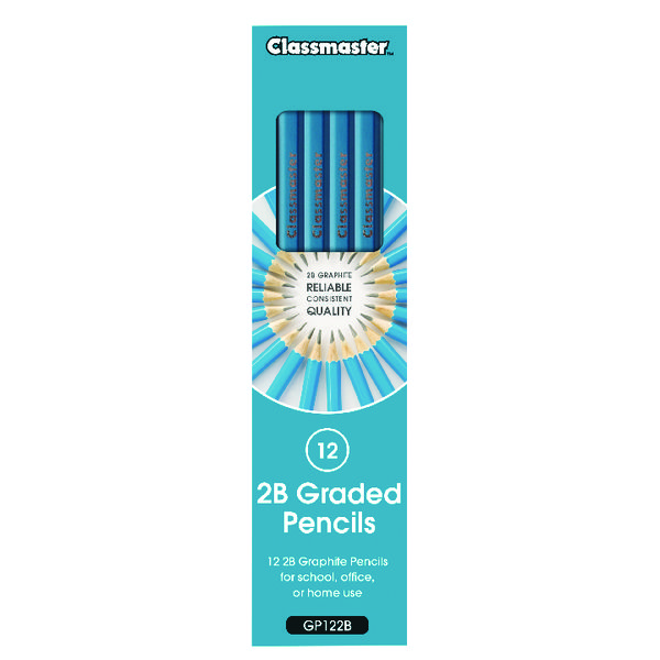 Classmaster 2B Pencil (12 Pack) GP122B