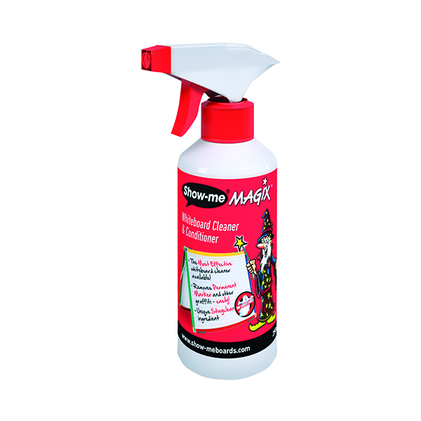 Show-me MAGIX Whiteboard Cleaner 250ml WCC