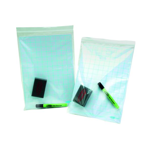 A4 Show-me Grip Seal Bags A4 (100 Pack) GA4