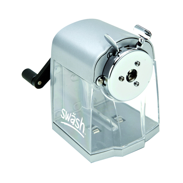 Single Swash Metal Desktop Pencil Sharpener 30FA