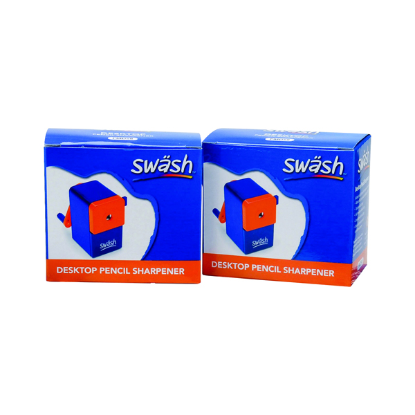 Single Swash Desktop Pencil Sharpener (2 Pack) EG841001