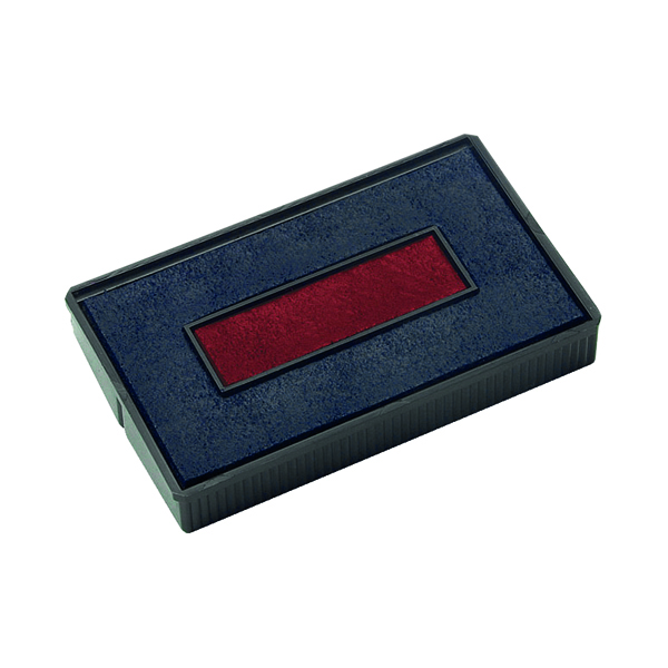 COLOP E/200/2 Replacement Ink Pad Blue/Red (2 Pack) E/200/2