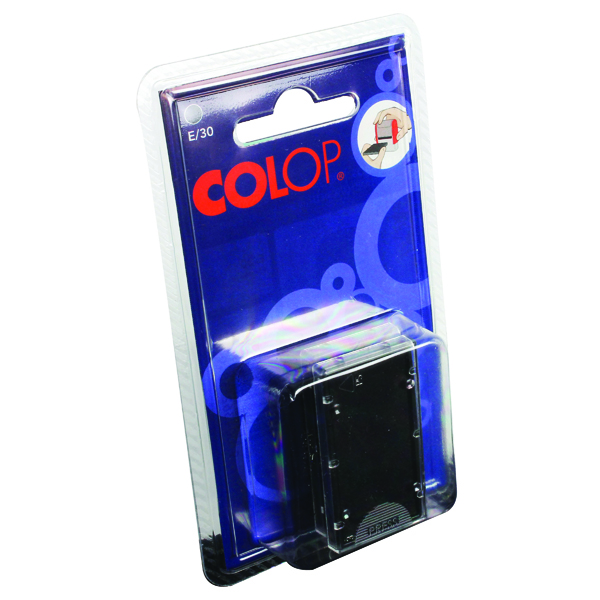 COLOP E/30 Replacement Ink Pad Black (2 Pack) E30BK