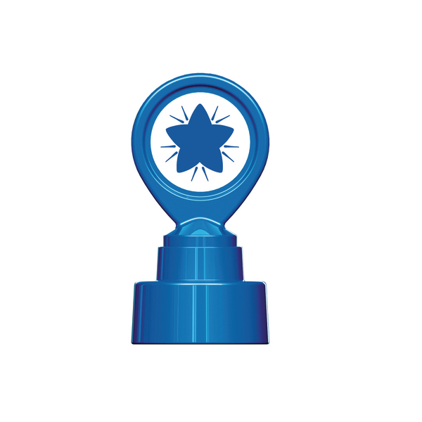 COLOP Motivational Stamp Blue Star MOTIVSTBE
