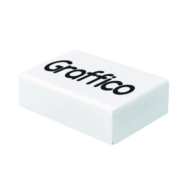 Graffico Plastic Eraser White (45 Pack) EN05992
