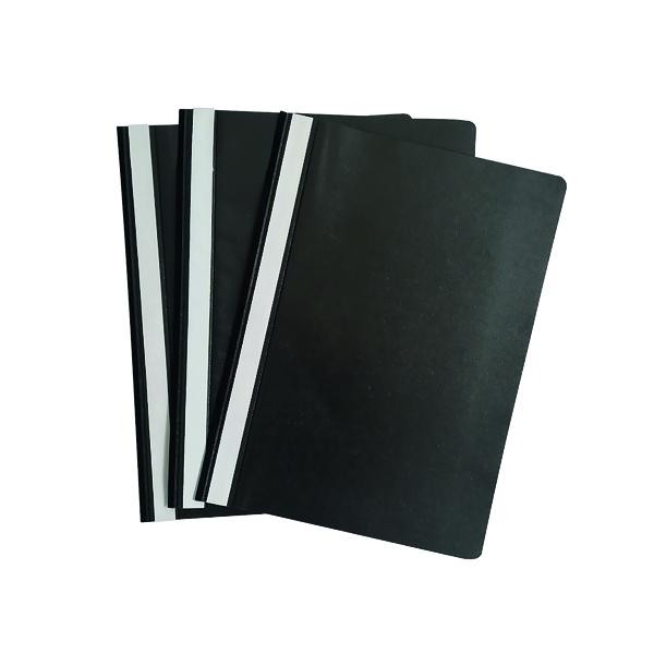1-10 Pockets Graffico Project Folder A4 Black (100 Pack) EN06041