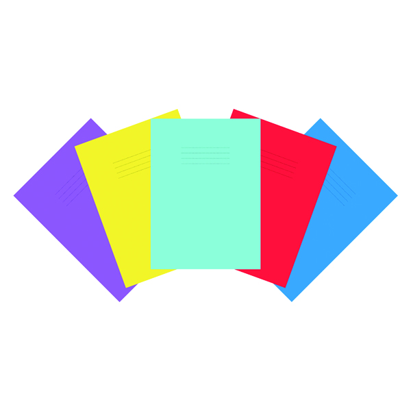 Pad Nu Education Scrapbook A4 Plus Assorted (50 Pack) NU602004