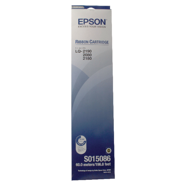 Unspecified Epson Black FX-2170 Fabric Ribbon Cartridge LQ-2070/LQ-2170 S015086 / C13S015086