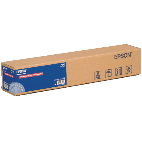 Epson Premium Glossy Photo Paper Roll 24in x 30.5m C13S041390