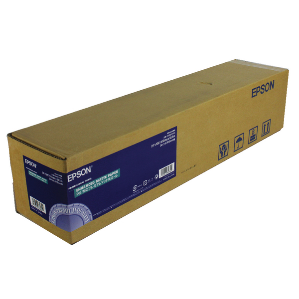 Other Size Epson Enhanced Matte Paper 24 Inches x30.5m 189gsm C13S041595