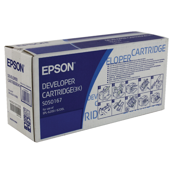 Unspecified Epson Toner/Developer Cartridge EPL-6200L Black C13S050167
