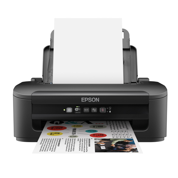 Multifunctional Machines Epson Black WorkForce WF-2010W Wireless Colour A4 Inkjet Printer C11CC40301