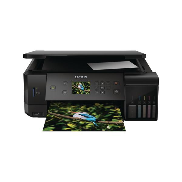 Inkjet Printers Epson EcoTank ET-7700 Inkjet Printer C11CG15401CE